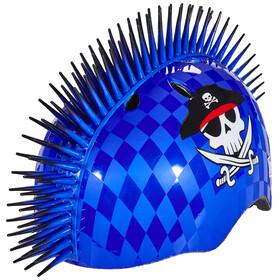 C-Preme Raskullz Eyepatch Pirate Mohawk Helmet blue